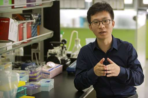 First gene-edited babies claimed in China