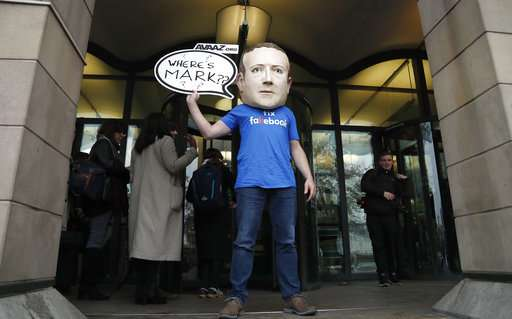Global lawmakers grill Facebook exec; Zuckerberg's a no-show