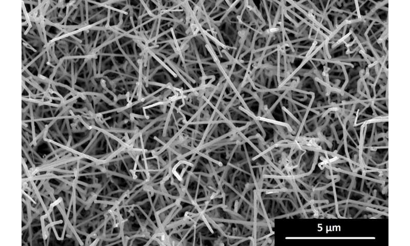Nanostructures made of previously impossible material