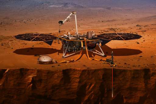NASA sending robotic geologist to Mars to dig super deep