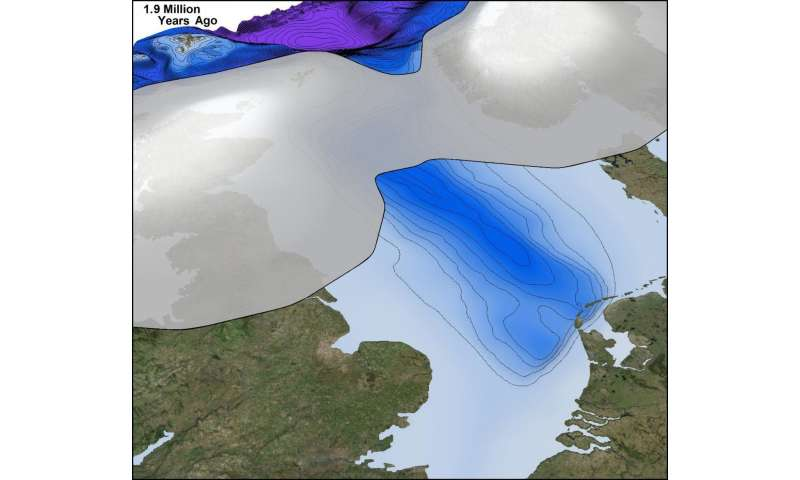 New research reveals British Isles buried under ice sheets 2.5 million years ago