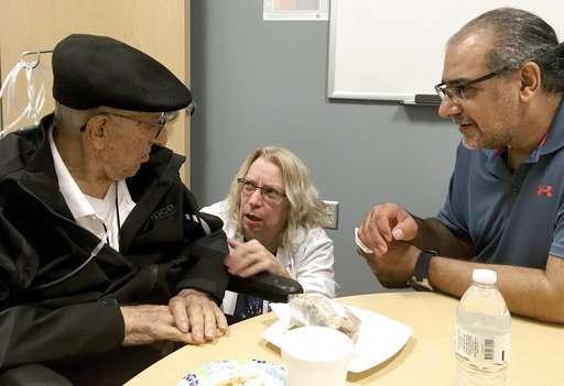 Stem cell transplant cements Arizona men's father-son bond