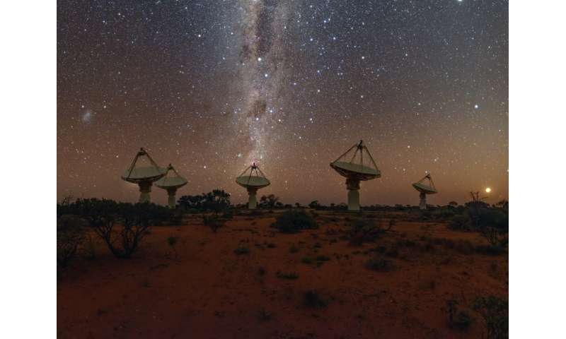 The search for the source of a mysterious fast radio burst comes relatively close to home