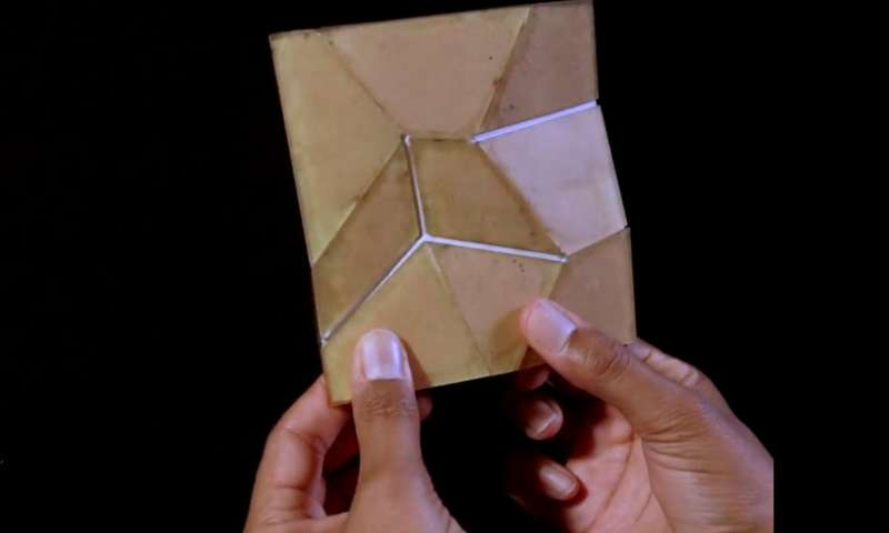Scientists lay out why some origami won't fold under pressure