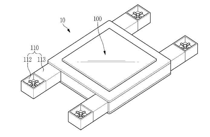 Samsung patent talk: Flying display right before your eyes