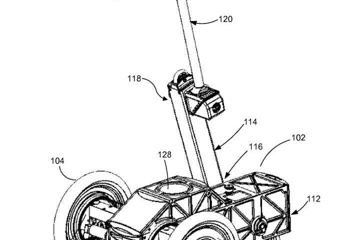 Facebook patent is about robot that transitions from three-wheeled to two-wheeled mode