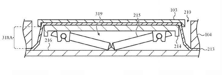 Apple patent talk: Keyboard users can have their work and muffins too