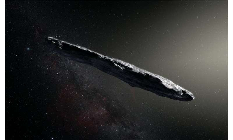 Outback radio telescope listens in on interstellar visitor