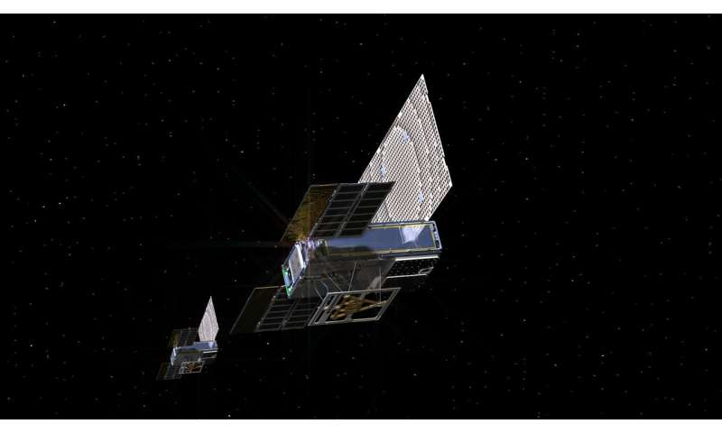 NASA's first deep-space CubeSats say: 'Polo!'