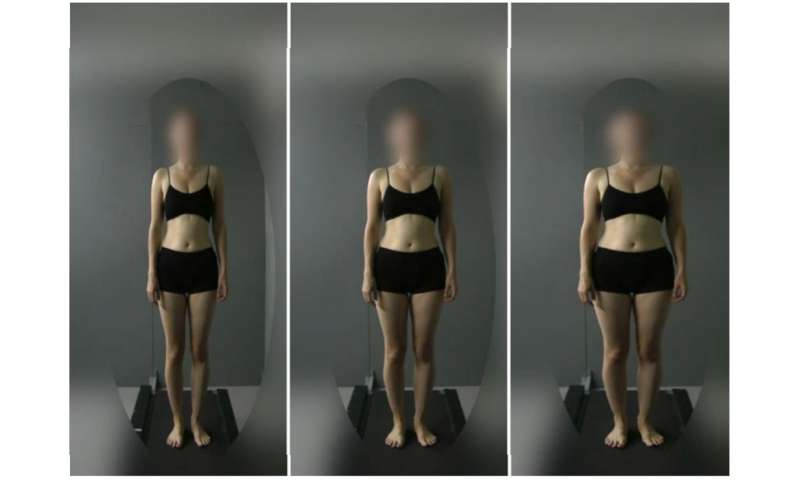 How images of other body sizes influence the way women view their own body size
