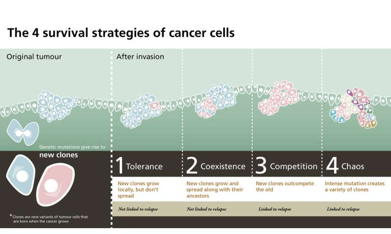 Childhood cancer: The four survival strategies of tumor cells
