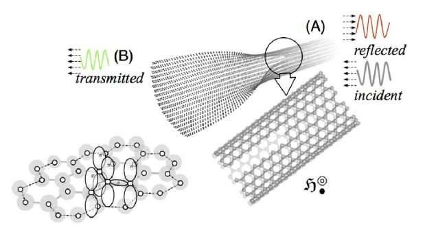 Unzipping graphene nanotubes into nanoribbons