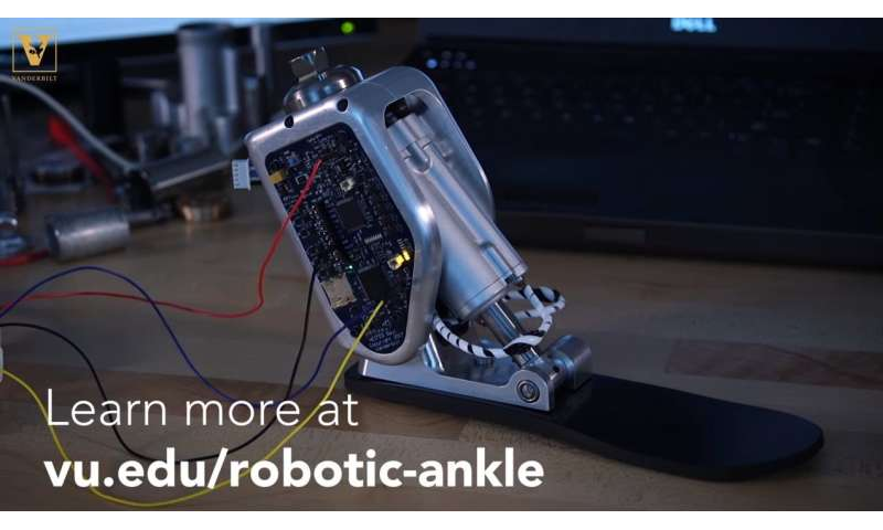 'Smart' prosthetic ankle takes fear out of rough terrain, stairs