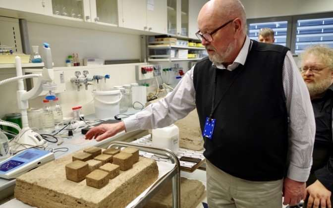A house could be printed in a day using a novel peat material