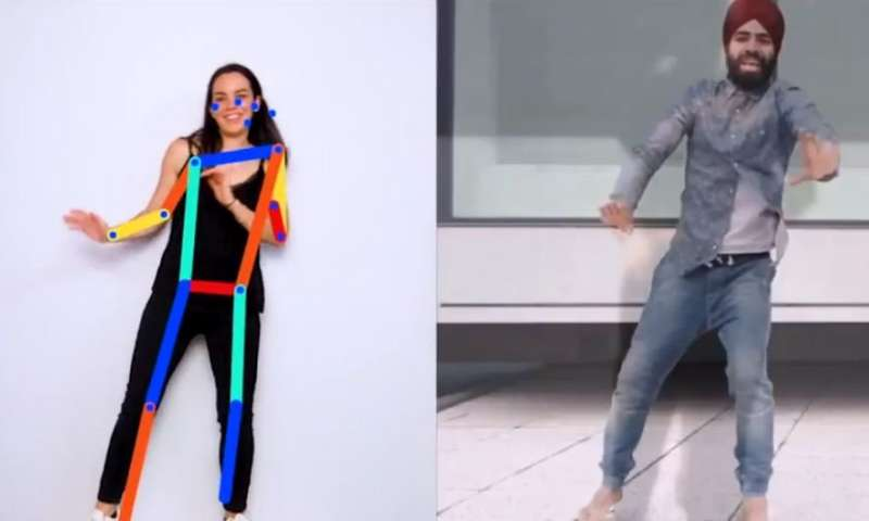 Machine learning experiment can image-match your pose
