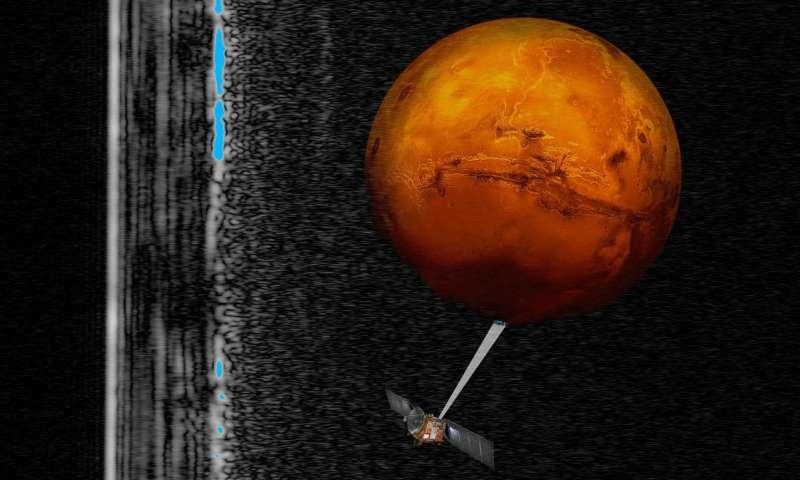 Liquid water is buried beneath Martian landscape, study says