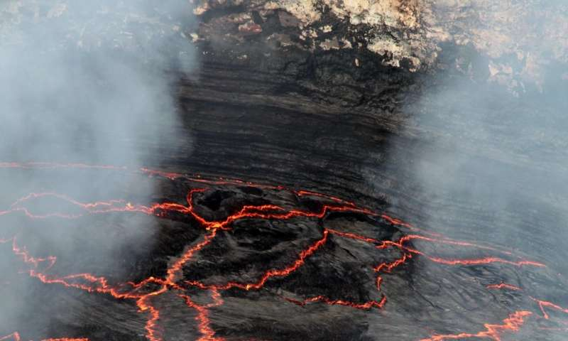 Size matters -- if you are a bubble of volcanic gas