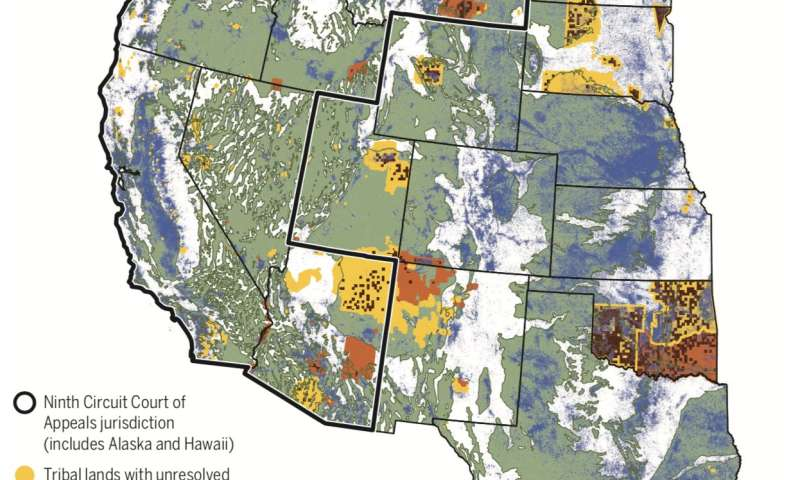 Study reveals the changing scope of Native American groundwater rights