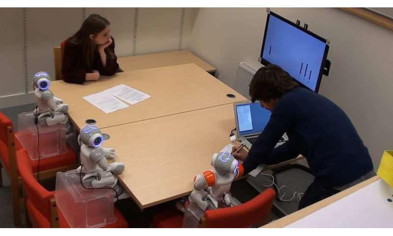 Robots have power to significantly influence children's opinions