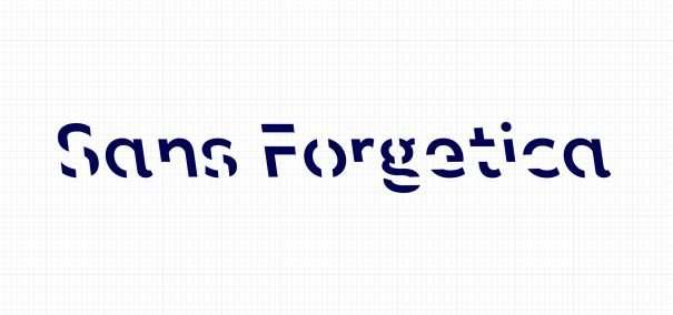 A font that helps you remember what you read – Sans Forgetica