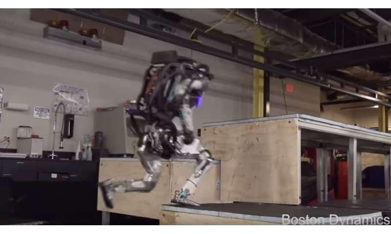 Boston Dynamics hands over a Parkour repertoire to Atlas