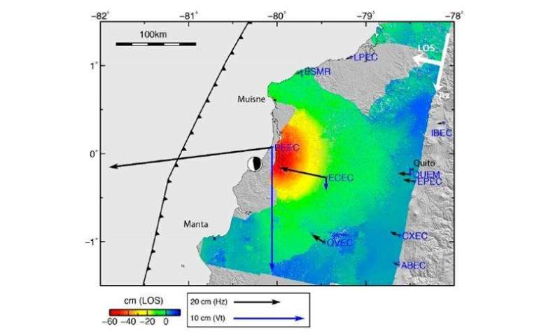 New maps to support decision-making after an earthquake