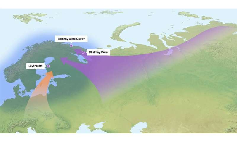 Ancient DNA shows Sami and Finns share identical Siberian genes