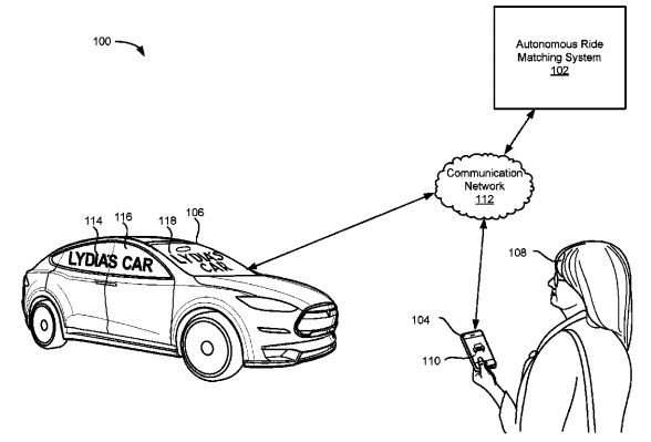 Lyft drives patent talk on self-driving safety via messages for pedestrians, cyclists
