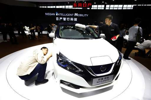 Beijing Auto show highlights e-cars designed for China