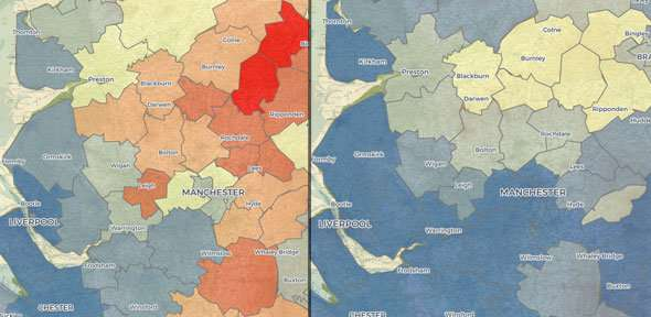 Online atlas explores north-south divide in childbirth and child mortality during Victorian era