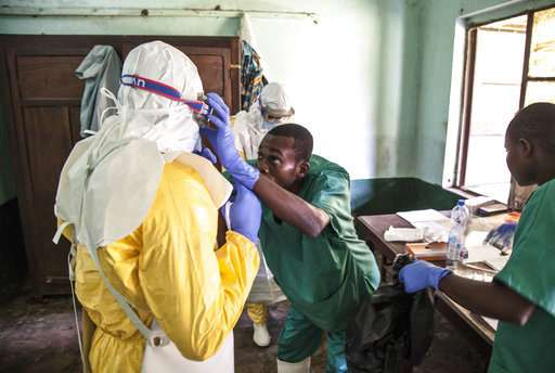 Ebola in Congo not yet a global health emergency, WHO says