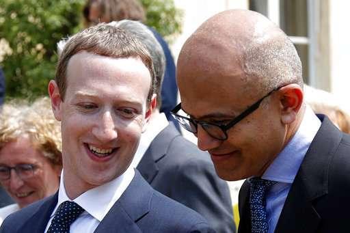 France's Macron takes on Facebook's Zuckerberg in tech push