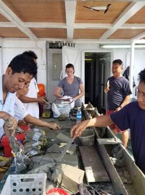 International team studies world's last uncharted major river delta