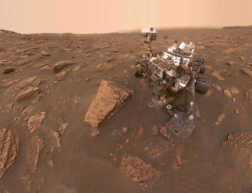 Named for Roman god of war, Mars isn't very kind to visitors