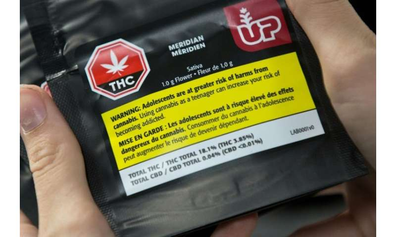 Recreational marijuana use will become legal in Canada on October 17