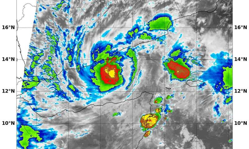 Tropical Cyclone 01A forms in northern Indian Ocean