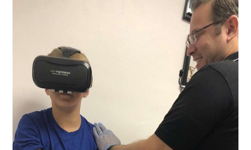 Virtual reality headsets significantly reduce children's fear of needles