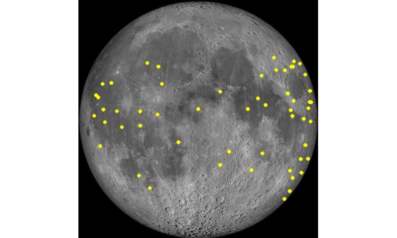 Learning from lunar lights