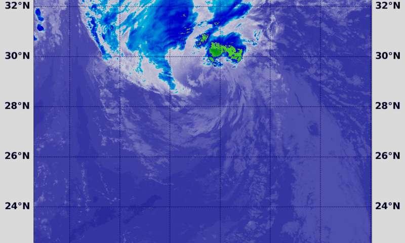 NASA-NOAA satellite find wind shear affecting Helene, Azores warnings up