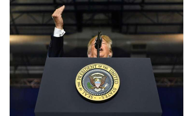 US President Donald Trump has popularised the term'fake news' and used it to attack the news media