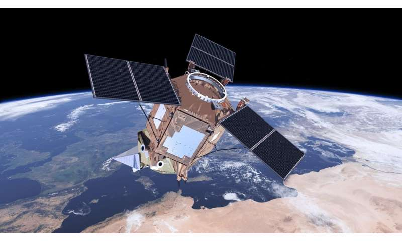 Copernicus Sentinel-5P ozone boosts daily forecasts
