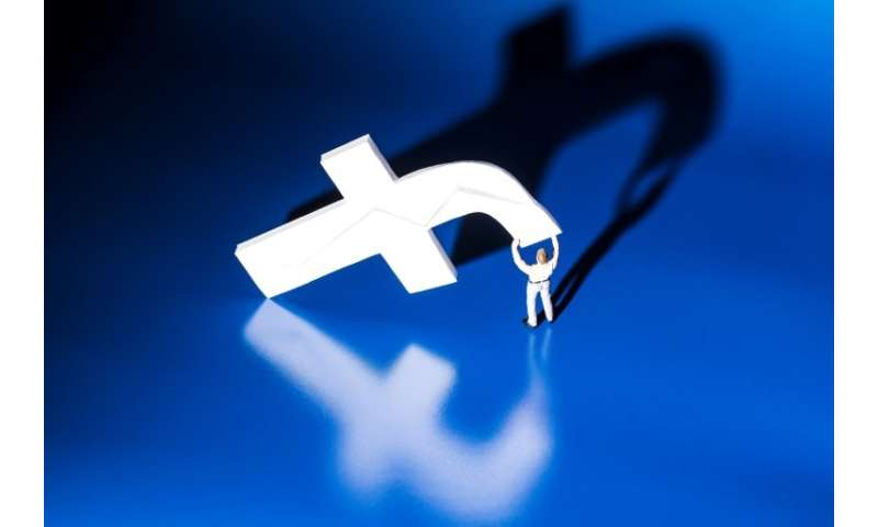 Facebook said unspecified issues were keeping internet users from accessing the social network and its applications