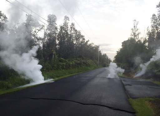 Hawaii's Kilauea volcano jolts with lava, quakes and gas