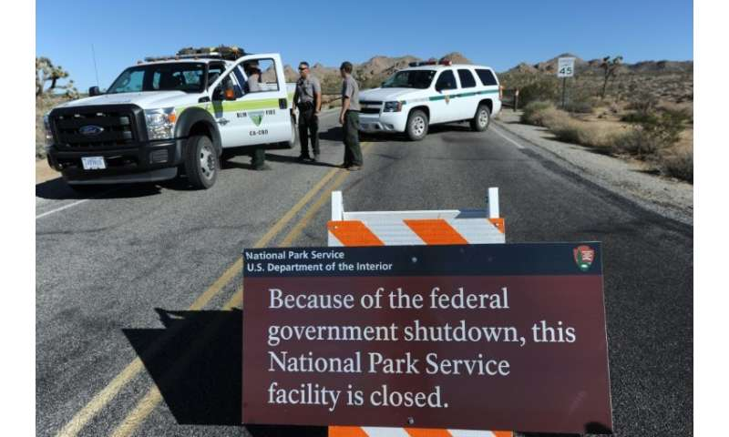 A 2013 government shutdown was devastating for businesses dependent on tourism to the Joshua Tree park