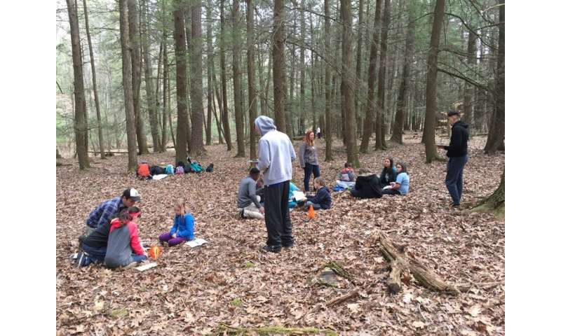 A 30-minute lesson can connect young people to nature, preserve for others