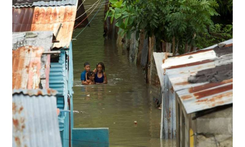 A Category Four hurricane which slammed into the Dominican Republic and Haiti in 2016 triggered major floods