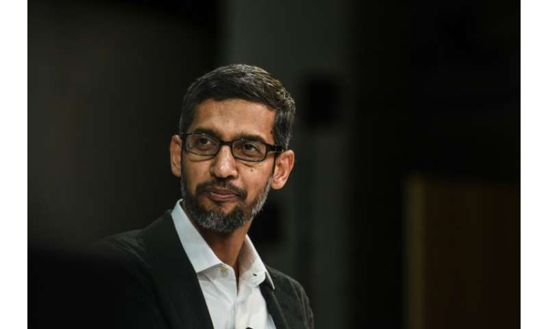 """A coalition of 60 human rights groups wrote to Google chief executive Sundar Pichai urging him to scrap the """"Dragonfly&quot"""