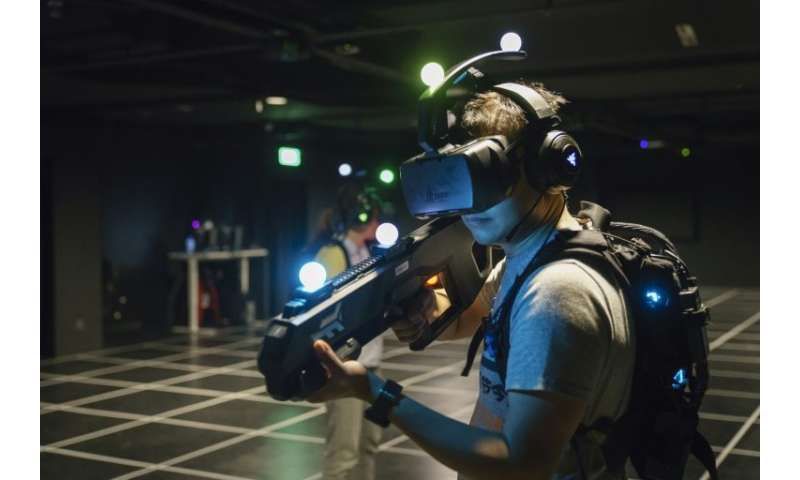 A gamer at a virtual reality arcade in Singapore—the latest to pop up around the world as backers of the technology seek to brea