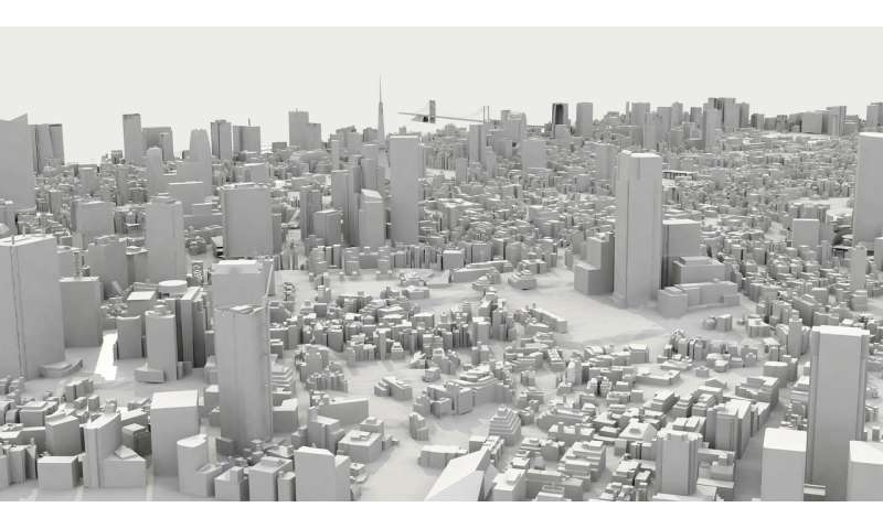 A genetic algorithm predicts the vertical growth of cities