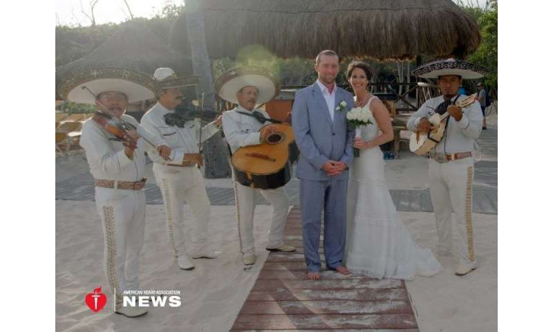 AHA: 37-year-old survives heart attack on the way to her wedding